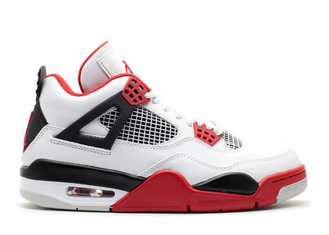 Jordan 4 Fire Red - EnglishSole