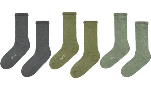 Yeezy - Bouclette Socks (Season 7 / 3-Pack)