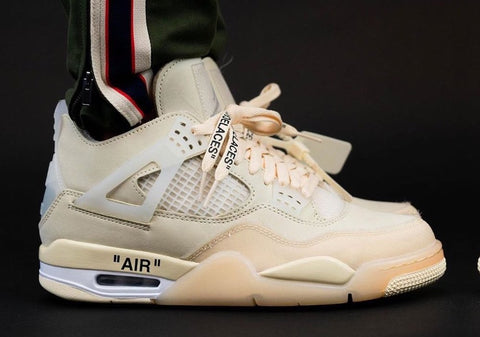 Jordan 4 Off White Sail