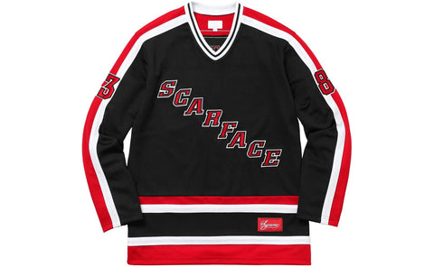 Supreme x Scarface - Hockey Jersey (Black)