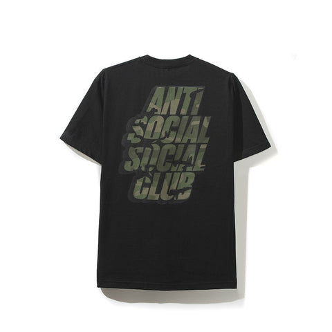 AntiSocial Social Club - Blocked Camo Tee (Black)