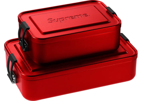 Supreme x SIGG - Small Metal Box (Red)
