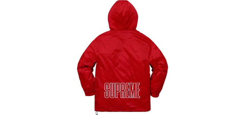 Supreme x Champion Pullover Parka (Red)