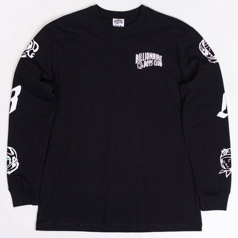 Billionaire Boys Club - Flyboy Long Sleeve Tee (Black)