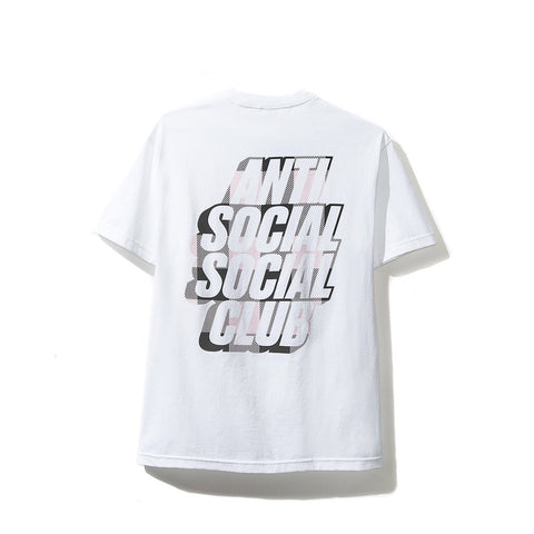AntiSocial Social Club - Blocked Pink Plaid Tee