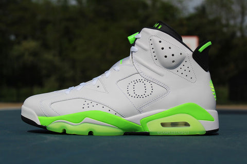 Jordan 6 Oregon PE White
