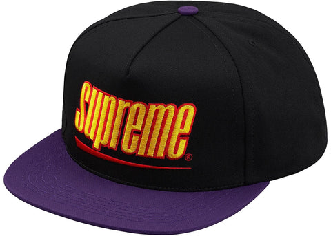 Supreme - Underline 5-Panel (Black)