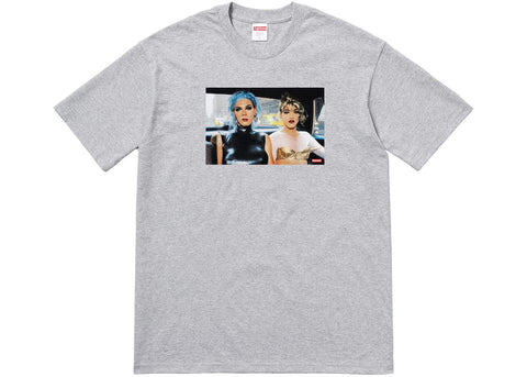 Supreme x Nan Goldin - Misty and Jimmy Tee (heather grey)