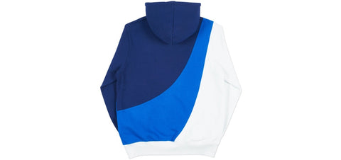 Palace - Sweeper Hood (Navy/Blue/White)