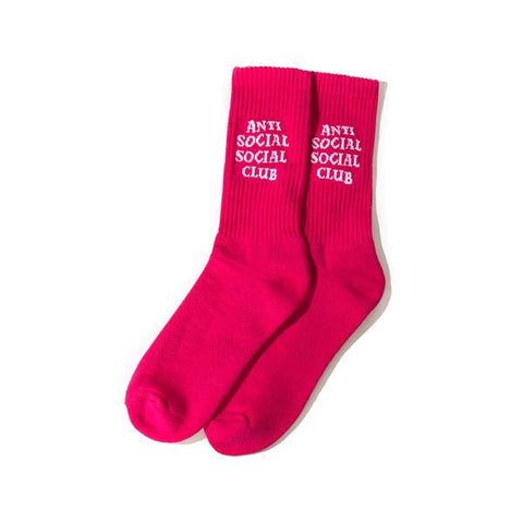 Anti Social Social Club - Smelly Pink Socks