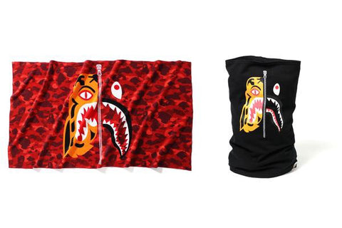 BAPE - Tiger Shark Towel (Red)