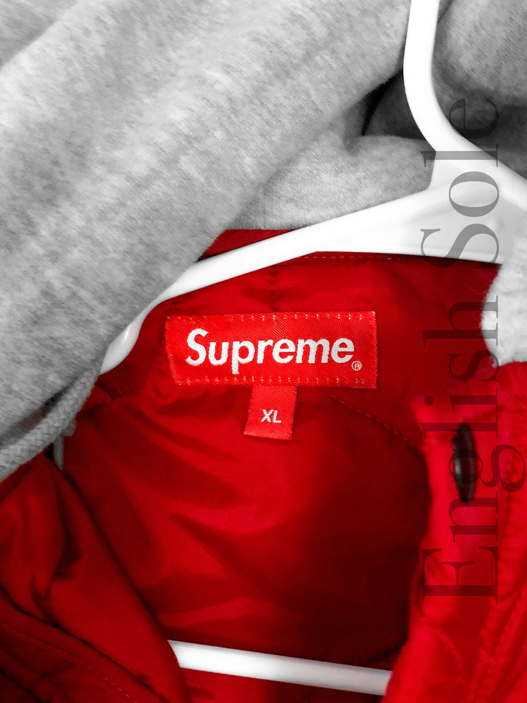 074f7d6a8f27 Supreme  Quilted Liner Hooded Jacket (dark red) Supreme  Quilted Liner  Hooded Jacket (dark red)