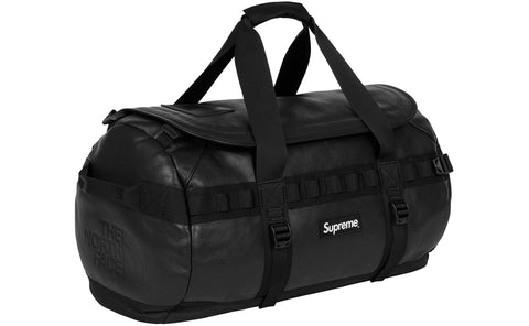 Supreme/North Face Leather Base Camp Duffel