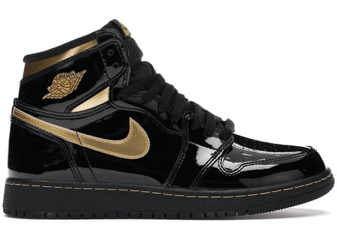 Jordan 1 Black and Gold GS