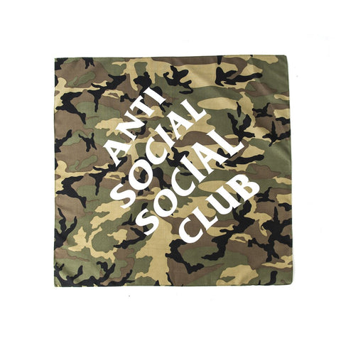 Anti Social Social Club - Jungle Bandana (Camo)