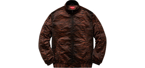 Supreme - Tiger Stripe Track Jacket (Brown)