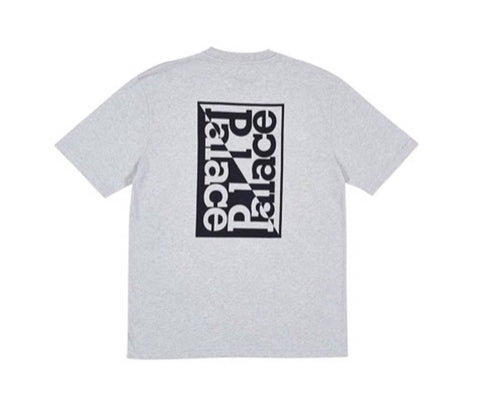 Palace - Split T-Shirt (Grey Marl)