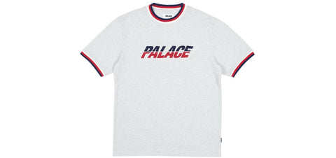 Palace - Split Handle T-Shirt (Light grey marl)