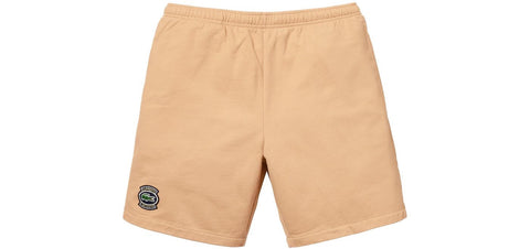Supreme x Lacoste - Sweatshort (Light Brown)