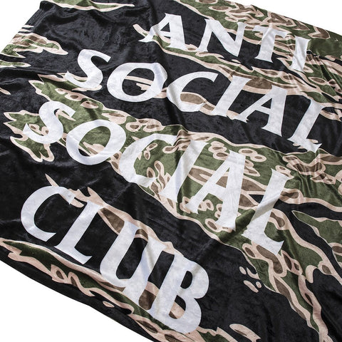 AntiSocial Social Club - Bellagio Tiger Camo Blanket