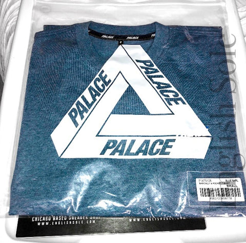 Palace - Basically A Pocket Tee (Blue Marble)