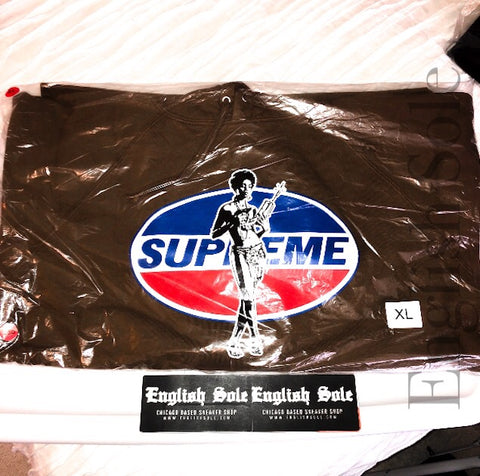 Supreme x HYSTERIC GLAMOUR - Hooded Sweatshirt (Brown)