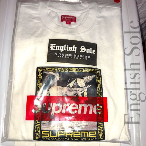 "Supreme - ""Best in the World"" L/S Tee (White)"