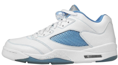 Jordan 5 Low White / University Blue - EnglishSole - Your source for rare and exclusive sneakers.