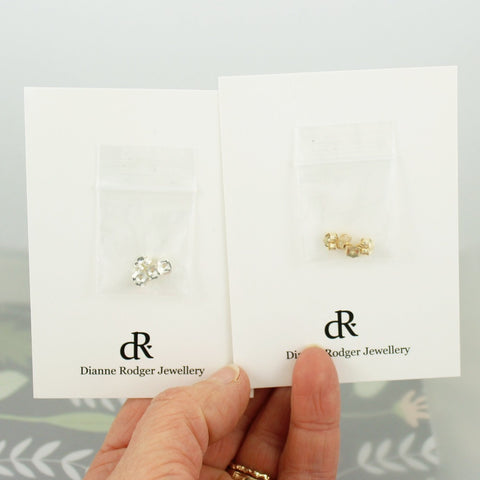Butterfly Earring Backings (2 pairs)