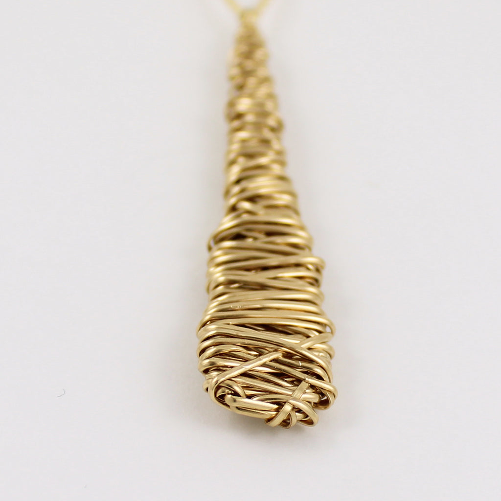 Yellow Gold Fill OOAK Necklace (L)