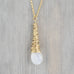 Gold Petal Necklace - Medium