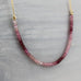 Pink Tourmaline Necklace (OOAK)