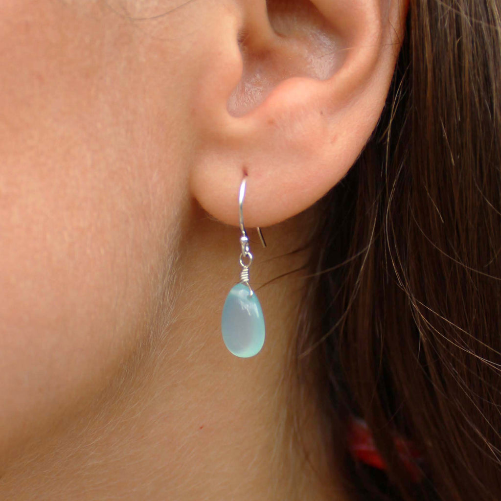 Gemstone Solo Earring