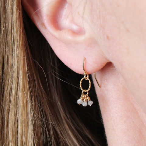 Diamond Cluster Earring - Limited
