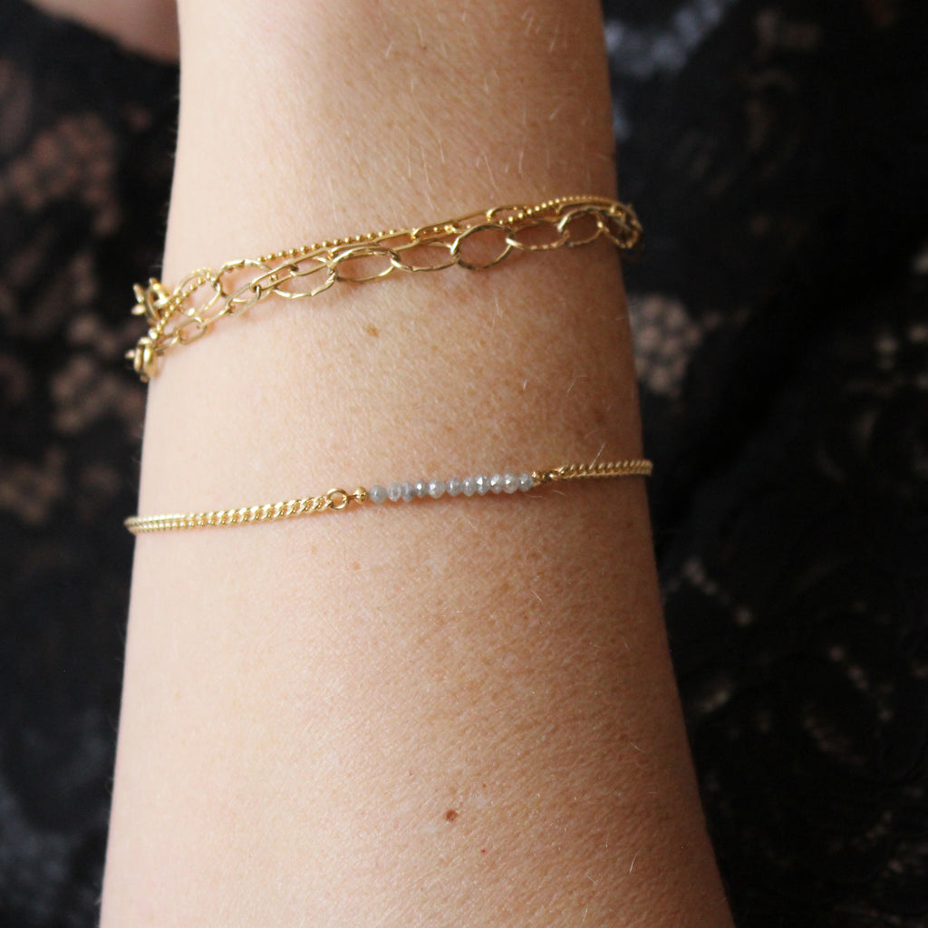 Diamond Bar Bracelet - Limited