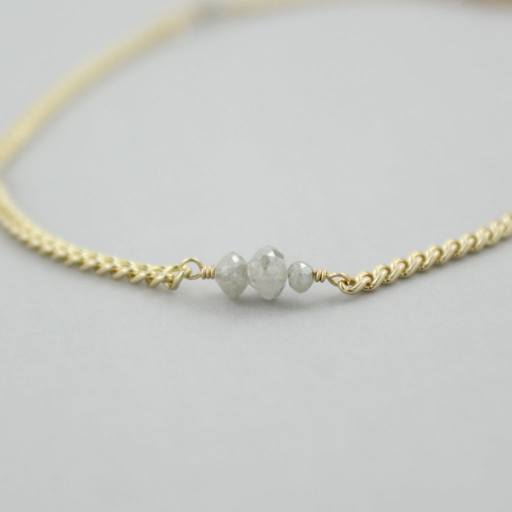 Scattered Diamonds Bracelet - Limited