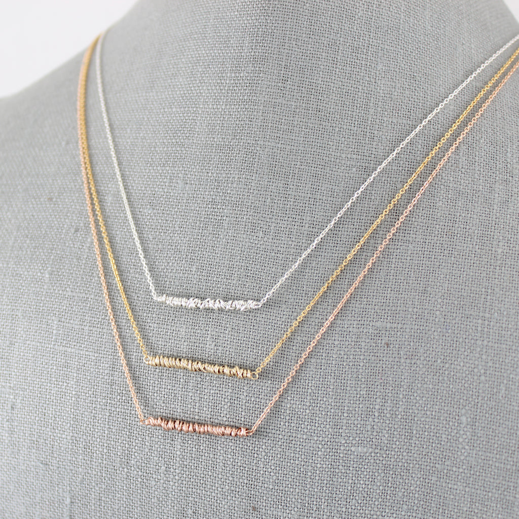 Twist Bar Necklace