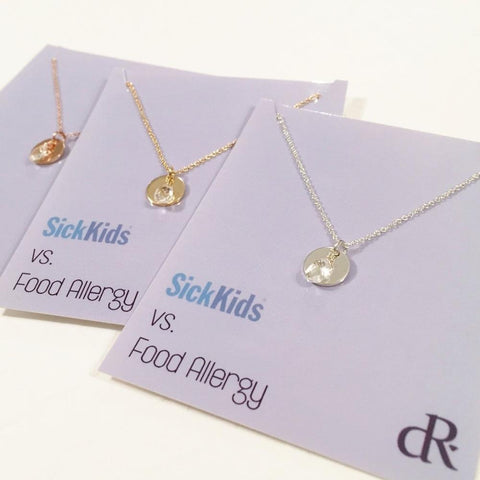 SickKids vs. Food Allergy - Charity Necklace