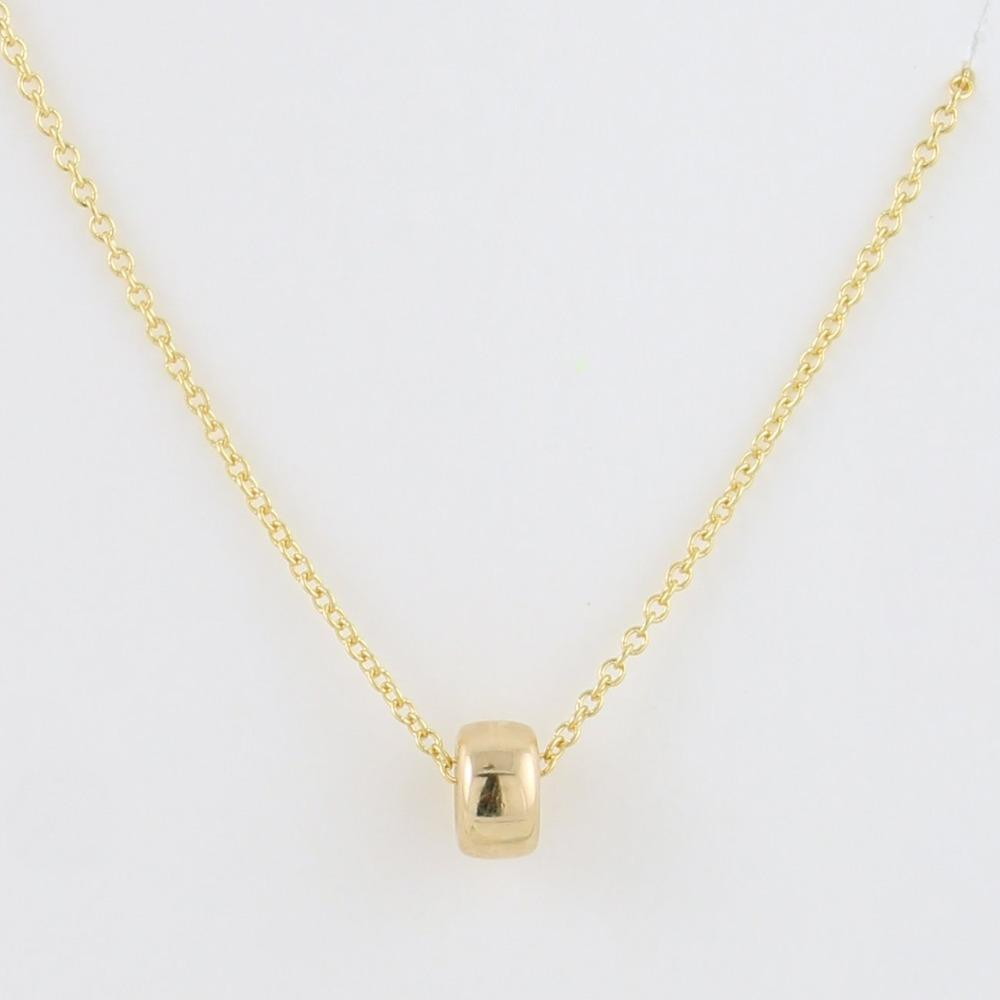 Gold Fill Little Pendant Necklace (anx)