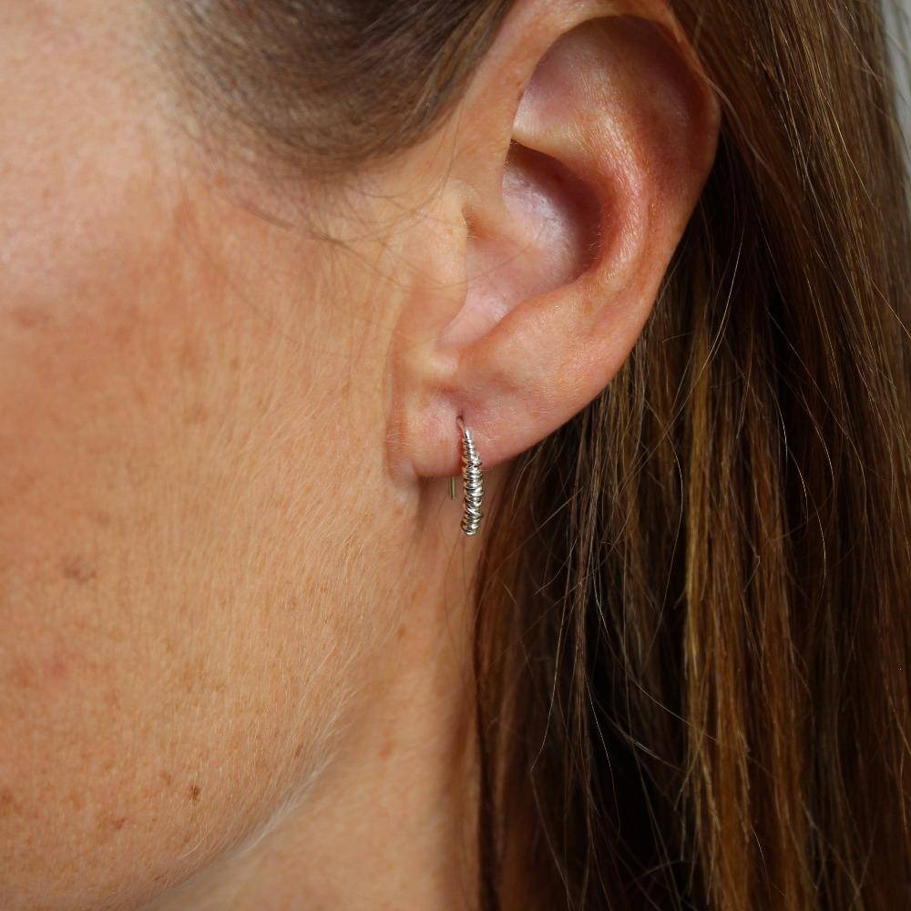 The 20/20 Stem Earring (short)