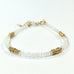 Gold Twist Stacking Bracelet