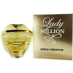 LADY MILLION Paco Rabanne women perfume EDT 2.7 oz NEW IN BOX