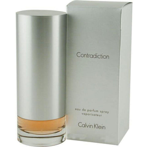 CONTRADICTION by Calvin Klein 3.4 oz edp Perfume New in Box Sealed