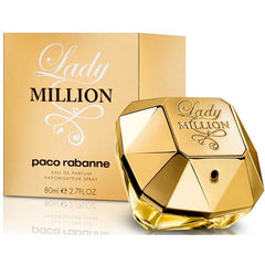 LADY MILLION Paco Rabanne women perfume EDP 2.7 oz NEW IN BOX