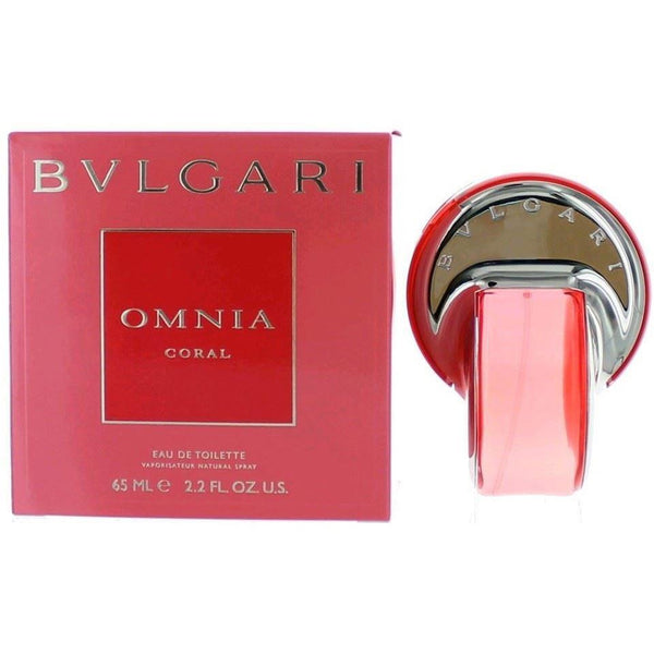 OMNIA CORAL by Bvlgari 2.2 oz Spray edt Perfume Women NEW IN BOX