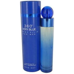 360 Very Blue by Perry Ellis cologne for Men EDT 3.3 / 3.4 oz New in Box