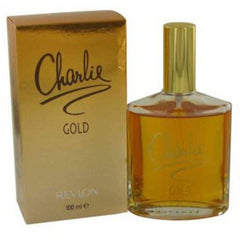 CHARLIE GOLD by REVLON Perfume 3.4 oz 3.3 edt New in Box