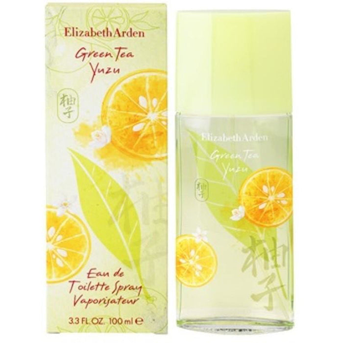 GREEN TEA YUZU Elizabeth Arden 3.3 oz 3.4 edt NEW IN BOX