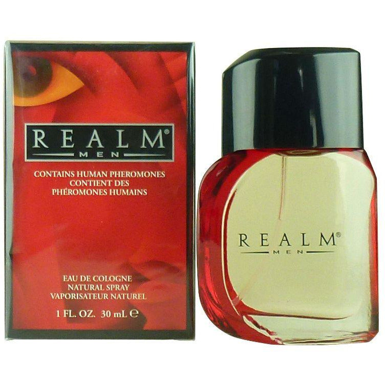 REALM by Erox Corp Cologne for Men 1.0 oz New in Box - 1.0 oz / 30 ml