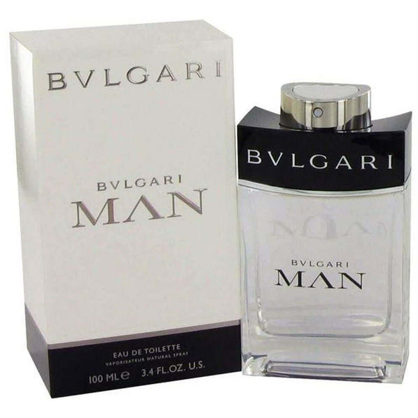 BVLGARI MAN Cologne HOMME 3.4 oz 100 ml edt 3.3 Spray NEW IN BOX